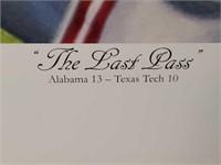 "Signed Daniel Moore ""The Last Pass"" S.E Print #79"