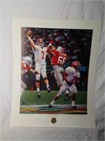 "Signed Daniel Moore ""Winning Connection"" Print"