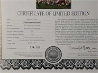 "Signed Daniel Moore ""Third Saturday Classic"" Print"