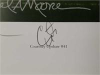 "Signed Daniel Moore ""Restoring the Order"" Print"