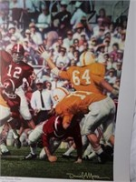 "Signed Daniel Moore ""Third Saturday Classic"" Print"