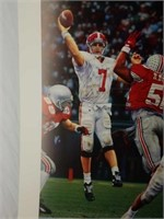 """Signed Daniel Moore """"Winning Connection"""" Print"""