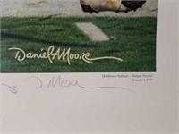 "Signed Daniel Moore ""Grand Finale"" Print 42/7000"