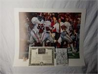 "Signed Daniel Moore ""Grand Finale"" Print 81/7000"