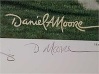 "Signed Daniel Moore ""Grand Finale"" Print 80/7000"