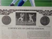 "Signed Daniel Moore ""Interception"" A.P Print"
