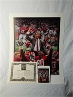 "Signed Daniel Moore ""Tradition Continues"" AP Print"