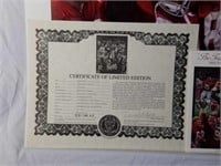 """Signed Daniel Moore """"Tradition Continues"""" AP Print"""