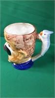 Austria Vase, Occupied Japan Mug, Tea Pot