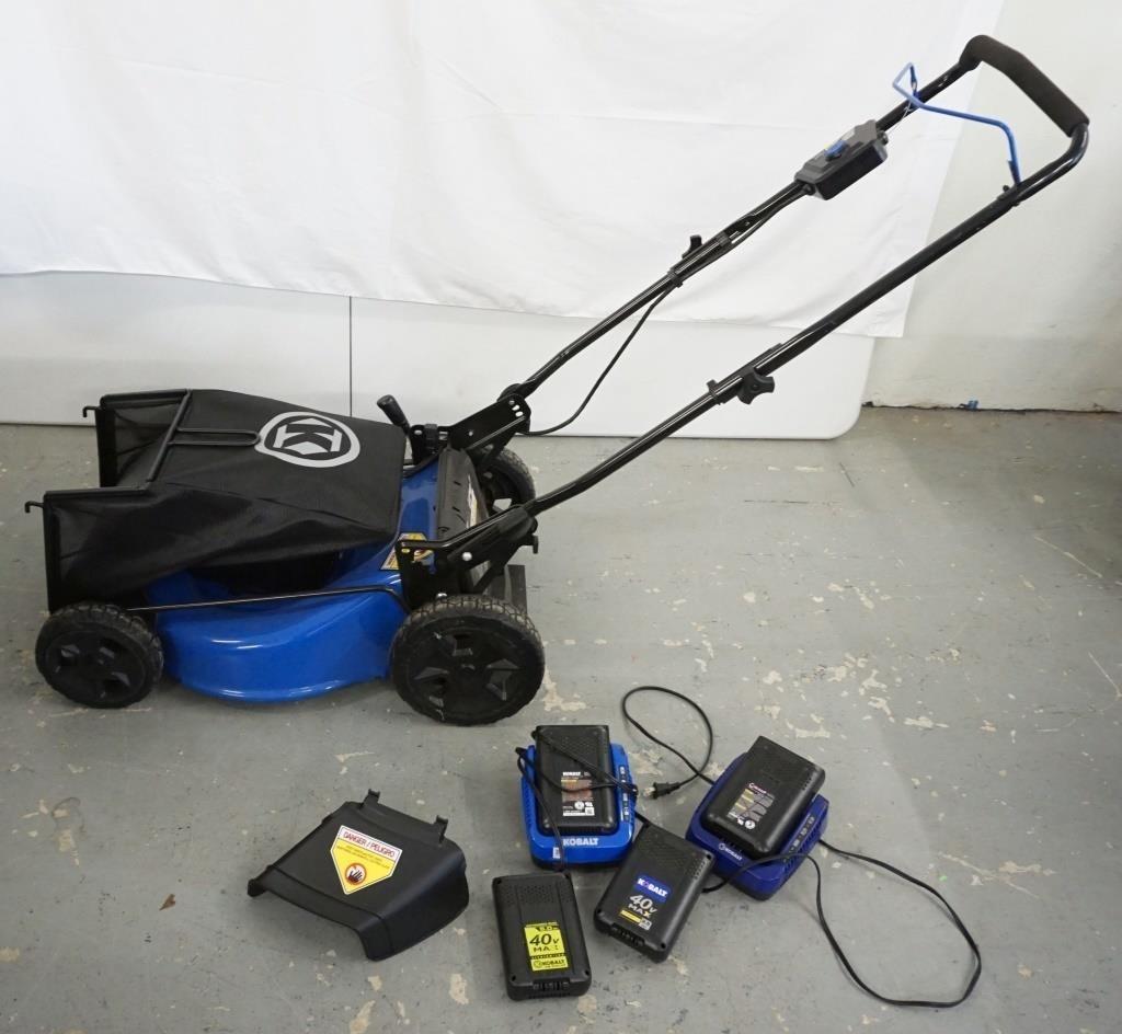 Kobalt Model KM 2041B-06 Mower | HenyKat Auction