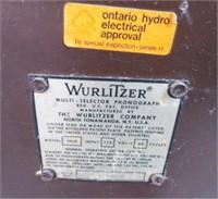 WURLITZER 3600 SUPERSTAR JUKE BOX