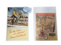 2 SCHWINN BICYCLE PIECES