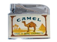 CAMEL CIGARETTE LIGHTER WITH BOX