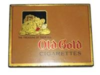 OLD GOLD 50 CIGARETTE TIN