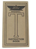 1913 FORD MODEL-T INSTRUCTION BOOKLET