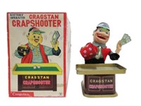 CRAGSTAN CRAP SHOOTER BATTERY OPERATED TOY