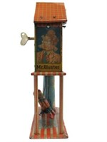 CLOCK-A-DOODLE HOWDIE DOODY TIN WIND-UP TOY