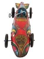 "MARX WIND-UP TIN ROCKET RACER CAR - 16""L"
