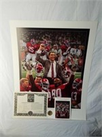 "Signed Daniel Moore ""Tradition Continues"" Print"