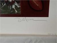 "Signed Daniel Moore ""Between the Lines"" A.P Print"