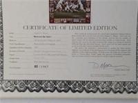 "Signed Daniel Moore "" Between the Lines"" Print"