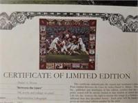 "Signed Daniel Moore ""Between The Lines"" Print"