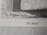 """Signed Daniel Moore """"Rocky Stop"""" A.P Print 170/704"""