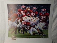 """Signed Daniel Moore """"Rocky Stop"""" A.P Print 82/704"""