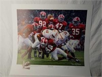 """Signed Daniel Moore """"Rocky Stop"""" A.P Print 161/704"""