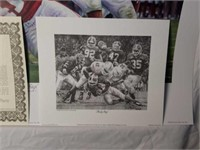 "Signed Daniel Moore ""Rocky Stop"" Print #82/4137"