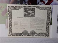 """Signed Daniel Moore """"Rocky Stop"""" Print #162/4137"""