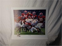 """Signed Daniel Moore """"Rocky Stop"""" A.P Print 678/704"""