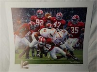 """Signed Daniel Moore """"Rocky Stop"""" A.P Print 168/704"""