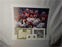 """Signed Daniel Moore """"Rocky Stop"""" Print #79/4137"""