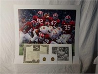 "Signed Daniel Moore ""Rocky Stop"" Numbered Print"