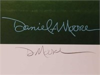 "Signed Daniel Moore ""Never Again"" Numbered Print"