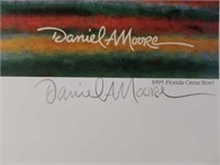 """Signed Daniel Moore """"Winning Connection"""" A.P Print"""