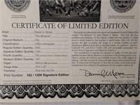 "Signed Daniel Moore ""The Blowout"" S.E. Print"