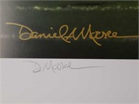 """Signed Daniel Moore """"The Blowout"""" Numbered Print"""