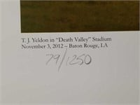 "Signed Daniel Moore ""Death Valley Drive"" Print"