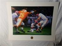 "Signed Daniel Moore ""The Kick II"" Numbered Print"