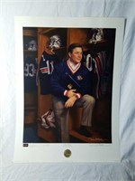 """Signed Daniel Moore/Bowden """"Terry Bowden"""" Print"""