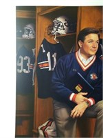 "Signed Daniel Moore/Bowden ""Terry Bowden"" Print"