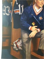 """Signed Daniel Moore & Bowden """"Terry Bowden"""" Print"""