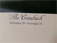 "Signed Daniel Moore ""The Comeback"" Print"
