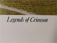 "Signed Alan Zuniga ""Legends of Crimson"" Print"