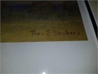 Limited Edition Thomas E Stephens print