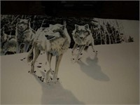 Edge of the Forest Timber Wolves John seery