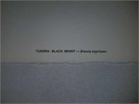 Maynard Reece Tundra Black Brant signed print