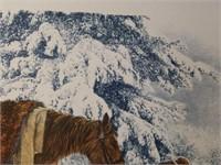 Beautiful Signed Paul Calle Native American Print